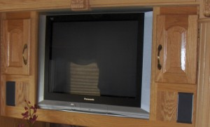 Original Old Style Living Room TV