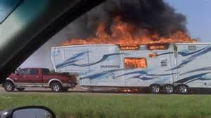 RV Fire Causes: Trailer Brakes Rub and Start a Fire!