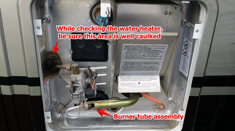 Rv Water Heater Troubleshooting Simple Maintenance Will