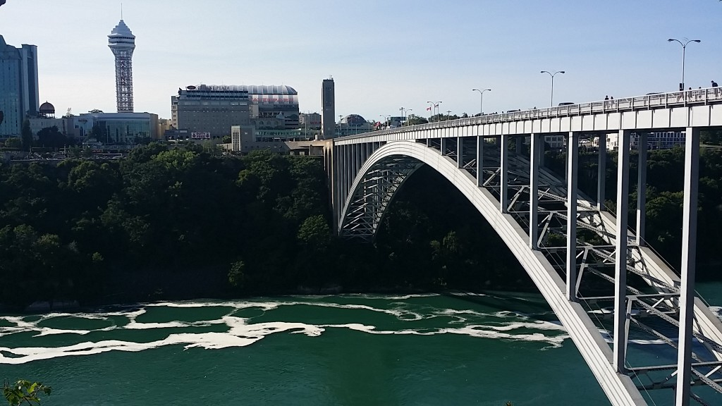 Crossing Border Into Canada Taking The Rainbow Bridge To
