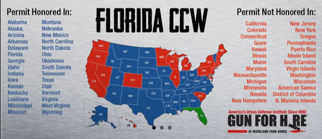 Florida Concealed Carry Reciprocity