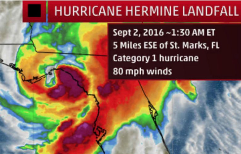 tropical storm hermine moving off east coast  dangerous