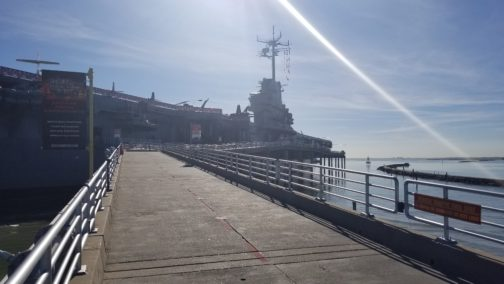 USS Lexington in Corpus Christi