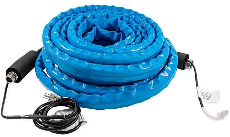 heated rv water hose